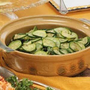 Simple Sauteed Zucchini
