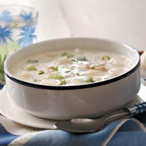Rich Clam Chowder