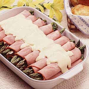 Best-Ever Asparagus/Ham Rolls