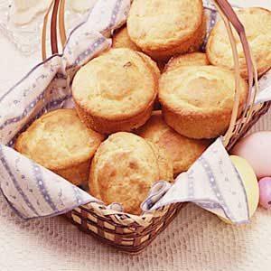 Orange Cream Cheese Muffins
