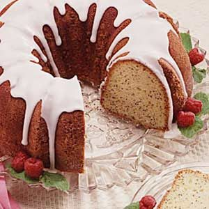 Country Poppy Seed Cake