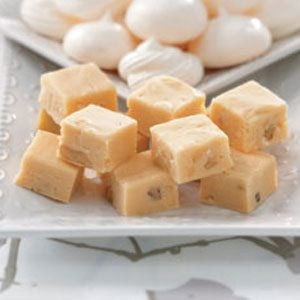 White Chocolate Coconut Fudge