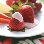 Strawberry-Flavored Fruit Dip