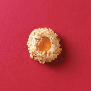 Pecan Thumbprint Cookies