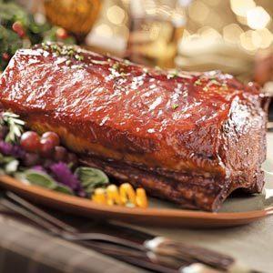 Glazed Pork Roast