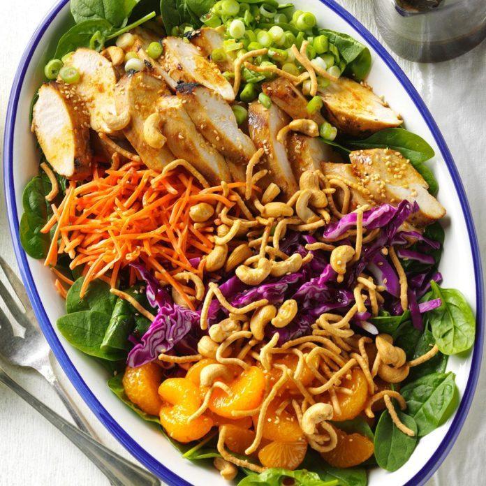 Day 14: Ginger-Cashew Chicken Salad