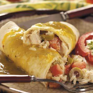 Contest-Winning Turkey Enchiladas