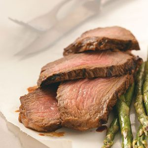 Marinated Chuck Steak