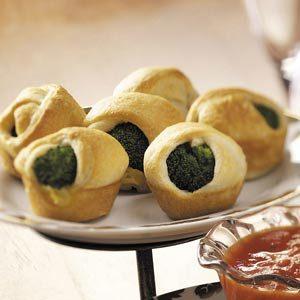 Broccoli Crescent Appetizers