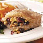 Cranberry-Stuffed Pork Chops