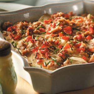 Sausage-Potato Bake