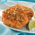 Pistachio-Crusted Salmon Cakes