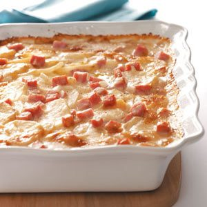 Scalloped Potatoes with Ham & Cheese