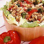 Whole-Wheat Pasta/Cheese Salad