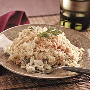 Makeover Chicken Noodle Delight