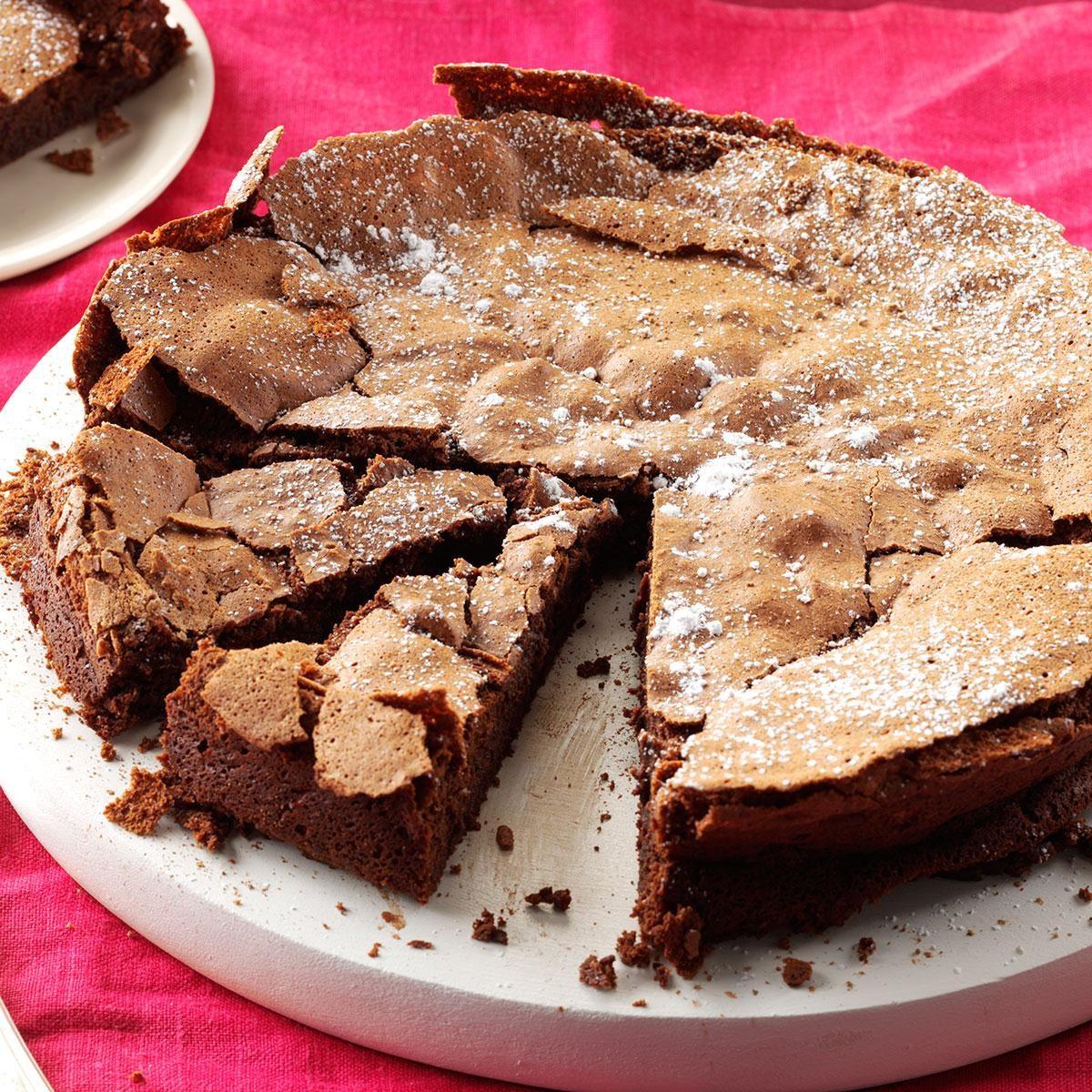 Flourless Dark Chocolate Cake Recipe