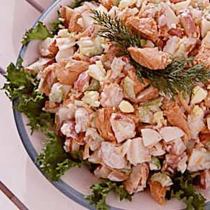Easy Salmon Potato Salad