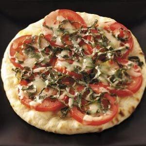 Tomato-Basil Pita Pizzas