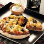 Santa Fe Chicken Pita Pizzas for 2