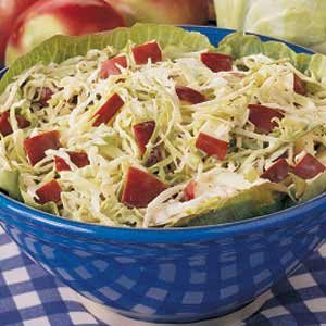 Cabbage Apple Slaw