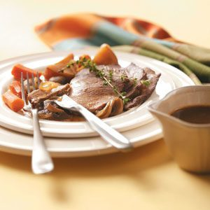 Coffee-Flavored Beef Roast