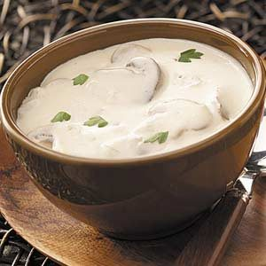 Hearty Cream of Mushroom Soup