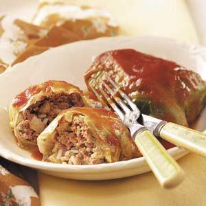 Sweet 'n' Tender Cabbage Rolls