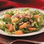 Mandarin-Walnut Lettuce Salad