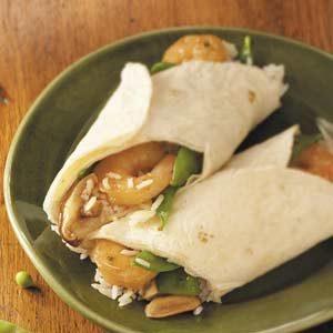 Shrimp 'n' Rice Wraps