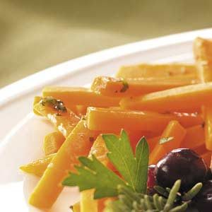 Carrots with Rosemary Butter
