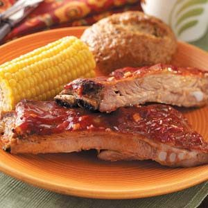 Oven-Barbecued Spareribs