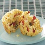 Red Pepper Jalapeno Muffins