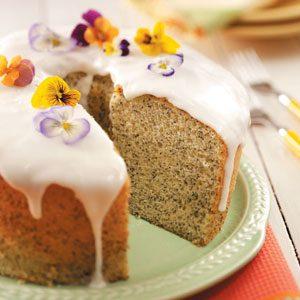Best Poppy Seed Chiffon Cake
