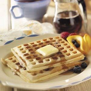 Crisp 'n' Tender Corn Waffles