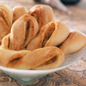 Caramelized Onion Breadsticks