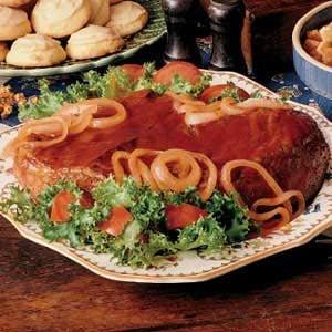 Barbecued Pot Roast