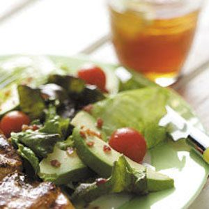 Quick Avocado Tomato Salad