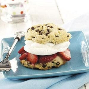 Chocolate Chip Strawberry Shortcakes
