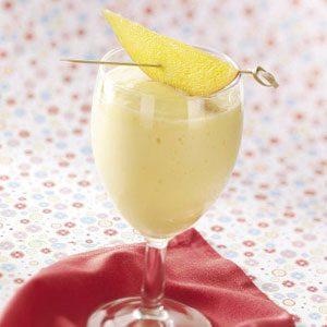 Mango-Green Tea Smoothies