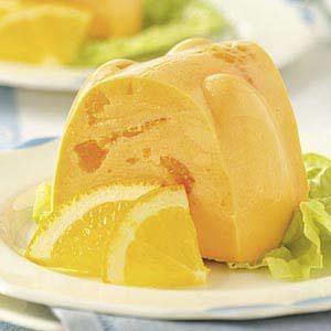 Creamy Orange Gelatin