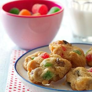 Holiday Gumdrop Cookies