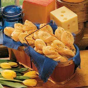 Italian Cheese Twists