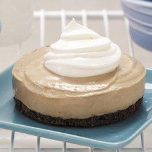 Frozen Mocha Cheesecakes