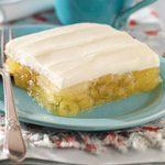 Frosted Pineapple Lemon Gelatin
