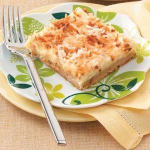 Coconut-Lemon Cheesecake Dessert