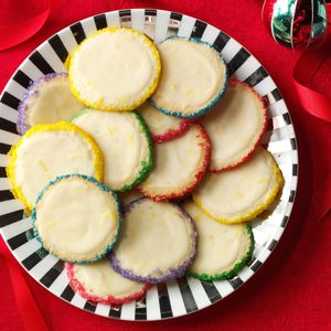 Slice 'n' Bake Lemon Gems