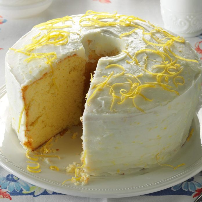 Washington: Lemon Chiffon Cake