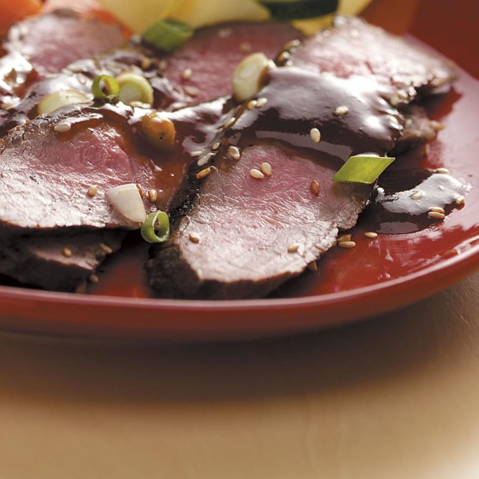 Contest-Winning Grilled Asian Flank Steak