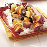 Pineapple Beef Kabobs