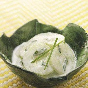 Makeover Creamy Cucumber Salad